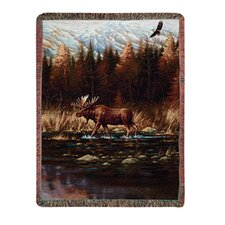 <strong>Manual Woodworkers & Weavers</strong> Autumn Memories Tapestry Cotton Throw