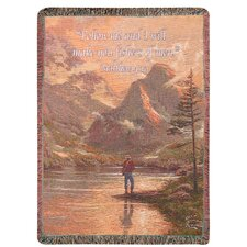 <strong>Manual Woodworkers & Weavers</strong> Almost Heaven Tapestry Cotton Throw