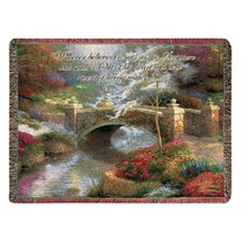 <strong>Manual Woodworkers & Weavers</strong> Bridge of Hope Tapestry Cotton Throw