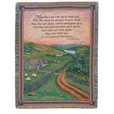 Blessing of Ireland Tapestry Cotton Throw