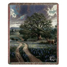 <strong>Manual Woodworkers & Weavers</strong> Country Living Tap Tapestry Cotton Throw