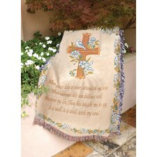 It Is Well with Tapestry Cotton Throw