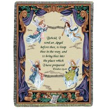 Angel Symphony Tapestry Cotton Throw
