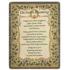 <strong>Manual Woodworkers & Weavers</strong> Peace and Plenty Tapestry Cotton Throw
