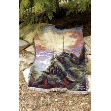 Sunrise Verse Tapestry Cotton Throw