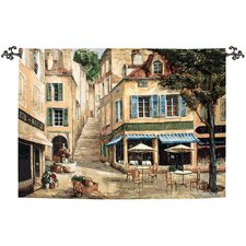 Cafe De La Place Tapestry