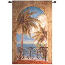 Palm Archway Tapestry