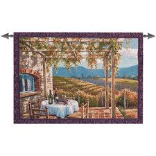 Vineyard Terrace Tapestry