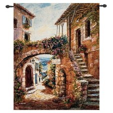 Walk Back in Time Tapestry