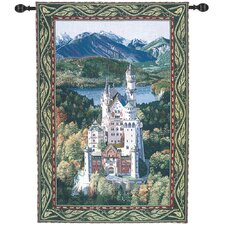 <strong>Manual Woodworkers & Weavers</strong> Neuschwanstein Castle Tapestry