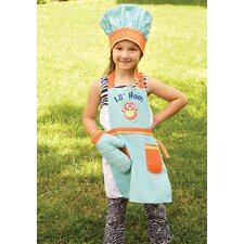 <strong>Manual Woodworkers & Weavers</strong> Lil' Hoot Apron (Set of 3)