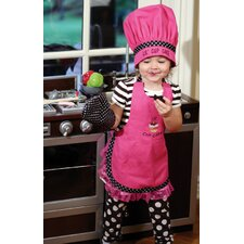 Lil Cupcake Chef Apron (Set of 3)