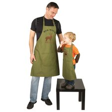 Big Buck and Wild Buck Apron (Set of 2)