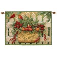 Happy Holiday Tapestry