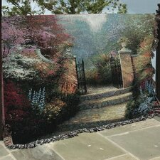 <strong>Manual Woodworkers & Weavers</strong> Victorian Garden Tapestry Cotton Throw