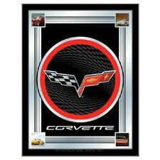 Corvette - C6 Logo Mirror Framed Graphic Art