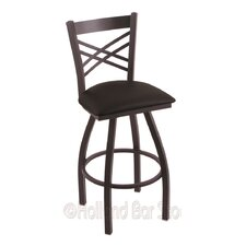 "Catalina 25"" Swivel Bar Stool with Cushion"