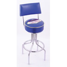 "Logo Series 30"" Bar Stool with Cushion"