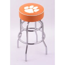 NCAA Double Ring Swivel Bar Barstool