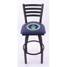 "US Military 30"" Bar Stool with Cushion"