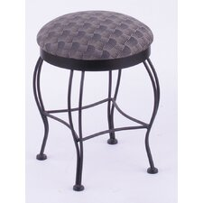"Georgian 18"" Swivel Bar Stool with Cushion"
