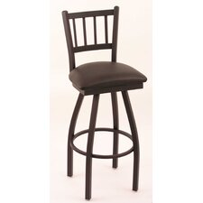 "Cambridge 25"" Swivel Bar Stool with Cushion"