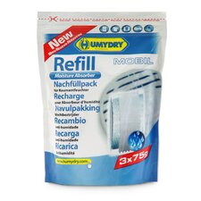 Refill Mobil 2.6 oz. Unscented Moisture Absorber (Pack of 3)