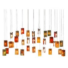 <strong>Light In Art by Shimal'e Peleg</strong> Autumn Leaves 33 Light Chandelier