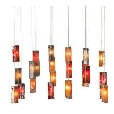 <strong>Light In Art by Shimal'e Peleg</strong> Bells 24 Light Chandelier