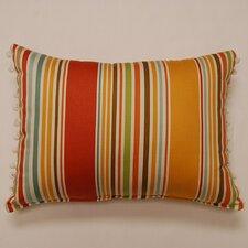Deck Chair Ball Fringe Shell Cotton Pillow (Set of 2)