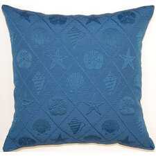 Shell Trellis Cotton Pillow (Set of 2)