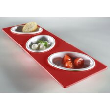 Small Entities Rectangular Finger Food Set
