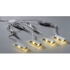 Teania 8 Light Under Cabinet Strip Light (Set of 4)