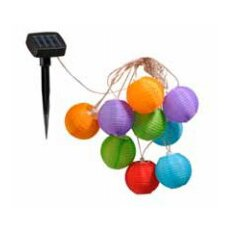 Lampion 10 Light Solar Spike