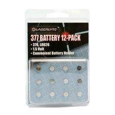 377 Batteries, 12-Pack