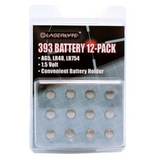 393 Batteries, 12-Pack