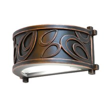 Asiana 1 Light Indoor/Outdoor Wall Sconce