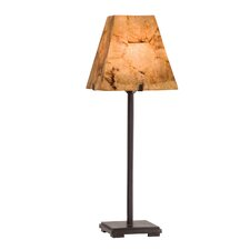 Madera Table Lamp with Rectangle Shade