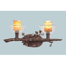 Cottonwood 2 Light Bath Vanity Light