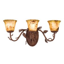 Ponderosa 3 Light Bath Vanity Light