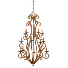 <strong>Kalco</strong> Santa Barbara 15 Light Chandelier