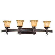 Americana 4 Light Bath Vanity Light