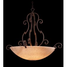 <strong>Kalco</strong> Ibiza 6 Light Bowl Inverted Pendant