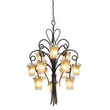 <strong>Kalco</strong> Tribecca 12 Light Chandelier