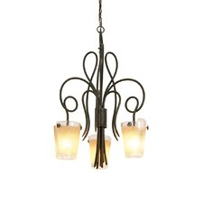 <strong>Kalco</strong> Tribecca 3 Light Chandelier