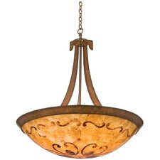 Copenhagen 6 Light Bowl Inverted Pendant