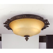 <strong>Kalco</strong> Hamilton 2 Light Flush Mount