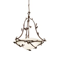 Ponderosa 5 Light Bowl Inverted Pendant