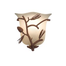 Ponderosa 1 Light Wall Sconce