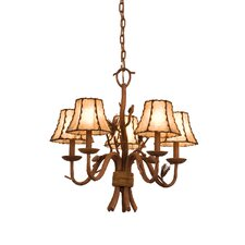 <strong>Kalco</strong> Ponderosa 5 Light Chandelier